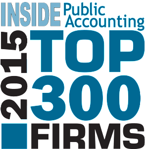 Inside Public Accounting Top 300 National Firm 2015 | Dalby Wendland & Co. | CPAs | Business Advisors | Colorado