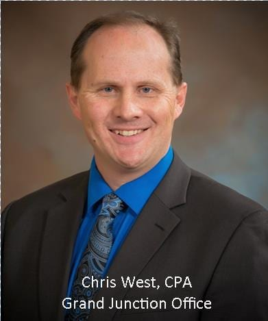 Chris West, CPA, Grand Junction Office
