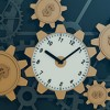 manufacturing gears and clock