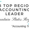2018 Top Regional Accounting Leader Mountain States Region
