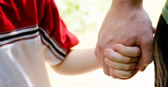man and child holding hands | estate planning for single parents | Dalby Wendlan d& Co | CPAs | Business Advisors | Estate & Trust Planning | Grand Junction CO | Glenwood Springs CO | Montrose CO