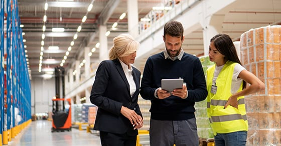 employees in warehouse ordering inventory | how nonfinancial data helps auditors | Dalby Wendland & Co. | CPAs | Business Advisors | Grand Junction CO | Glenwood Springs CO | Montrose CO