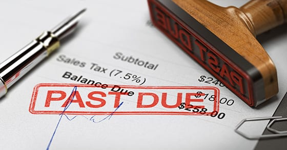 past due invoice | 5 ways to manage your receivables | Dalby Wendland & Co. | CPAs | Business Advisors | Grand Junction CO | Glenwood Springs CO | Montrose CO