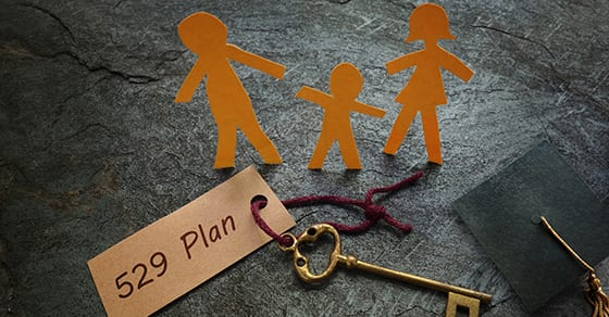 paper cutout of family and words 529 college savings plan | 529 Savings Plan Offers Unique Estate Planning Benefits | Dalby Wendland & Co | CPAs & Advisors | Grand Junction Colorado | Glenwood Springs Colorado | Montrose Colorado