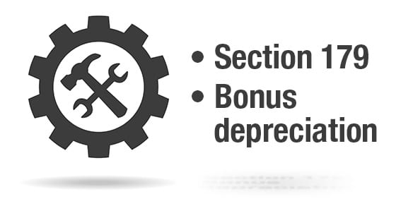 Section 179 and Bonus Depreciation | Year-End Tax-Saving Tools for Your Business | Dalby Wendland & Co. | CPAs & Business Advisors | Grand Junction CO | Glenwood Springs CO | Montrose CO