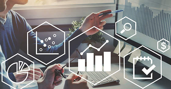 Business analytics concept with financial charts to analyze profit and finance   Cost Management for Businesses   Dalby Wendland & Co   CPAs & Business Advisors   Grand Junction CO   Glenwood Springs CO   Montrose CO