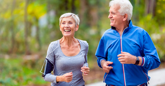 senior couple exercising | Estate Planning for Your Stage in Life | Dalby Wendland & Co | CPAs & Business Advisors | Grand Junction CO | Glenwood Springs CO | Montrose CO