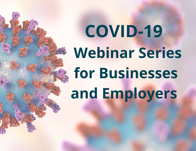 COVID-19 Webinar Series for Businesses and Employers   Dalby Wendland & Co   CPAs & Business Advisors   Colorado