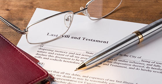 copy of a will   Be Careful of Online Tools for Wills   Dalby Wendland & Co.   CPAs & Business Advisors   Grand Junction CO   Glenwood Springs CO   Montrose CO