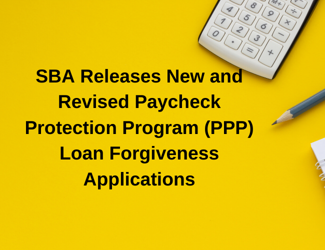 calculator and pencil | SBA Releases New and Revised PPP Loan Forgiveness Applications | Dalby Wendland & Co. | CPAs & Business Advisors | Grand Junction CO | Glenwood Springs CO | Montrose CO