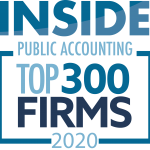 Inside Public Accounting Top 300 Firms 2020 | Dalby Wendlan d& Co. | CPAs & Business Advisors | Grand Junction CO | Glenwood Springs CO | Montrose CO
