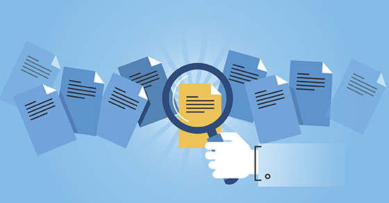 magnifying glass highlighting hidden information in a document | Reporting Guidance on Embedded Leases | Dalby Wendland & Co. | CPAs & Business Advisors | Audit
