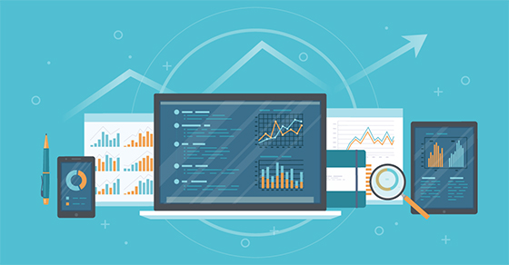 image of accounting metrics on computer screen | Avoid These 5 Common Accounting Software Mistakes | Dalby Wendland & Co. | CPAs & Business Advisors | Grand Junction Colorado | Glenwood Springs Colorado | Montrose Colorado
