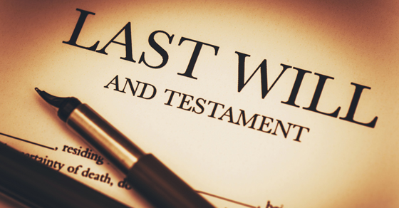 image of last will and testament   Do I need my original will?   Dalby Wendland & Co.   CPAs & Business Advisors   Grand Junction CO   Glenwood Springs CO   Montrose CO