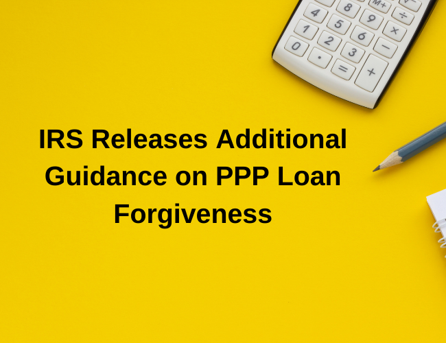 calculator and pencil | IRS Releases Additional Guidance on PPP Loan Forgiveness | Dalby Wendland & Co | CPAs & Business Advisors | Grand Junction CO | Glenwood Springs CO | Montrose CO
