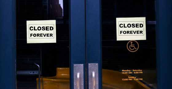 permanently closed business | Tax Responsibilities When Closing a Business | Dalby Wendland & Co. | CPAs & Business Advisors | Grand Junction CO | Glenwood Springs CO | Montrose CO