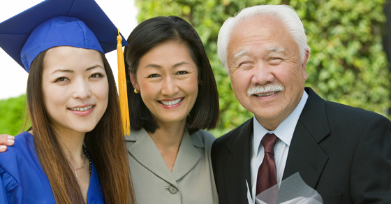 family at college graduation | reduce gift and estate tax exposure | Dalby Wendland & Co. | CPAs & Business Advisors | Grand Junction CO | Glenwood Springs CO | Montrose CO