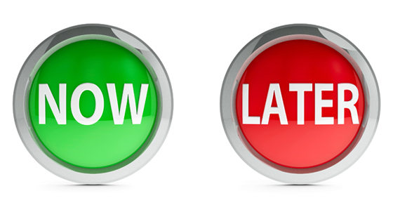 green button with word go and red button with word stop | When is the right time to transfer your wealth? | Dalby Wendland & Co | CPAs & Business Advisors | Grand Junction CO | Glenwood Springs CO | Montrose CO
