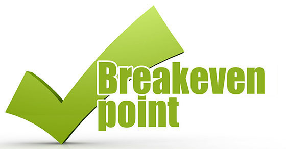 Break-even point word with green checkmark | Estimate Your Company's Breakeven Point | Dalby Wendland & Co. | CPAs & Business Advisors | Grand Junction CO | Glenwood Springs CO | Montrose CO