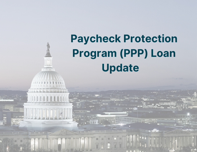 photo of the top of the US capitol building | Paycheck Protection Program Loan Update | Dalby Wendland & Co. | CPAs & Business Advisors | Grand Junction CO | Glenwood Springs CO | Montrose CO