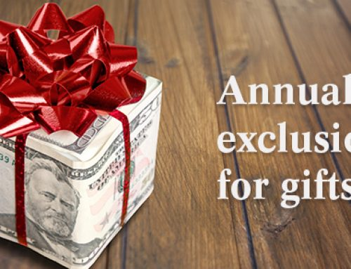 Annual Exclusion for Gifts