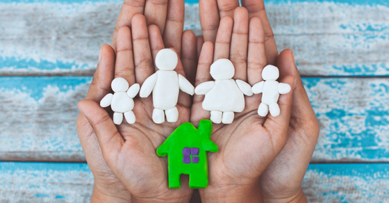 hands holding paper cutouts of a family and house   tenancy-in-common can help estate planning   Dalby Wendland & Co.   CPAs & Business Advisors   Grand Junction CO   Glenwood Springs CO   Montrose CO